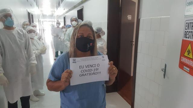 Primeiros pacientes da Covid-19 em hospital de campanha recebem alta - Imagem 2