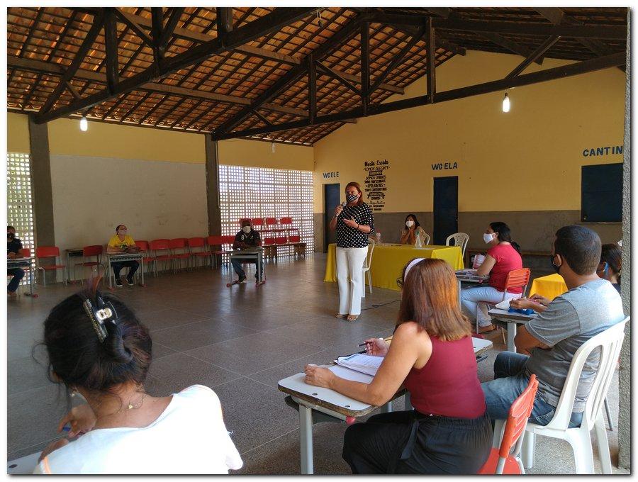 Reunião com a equipe gestora das escolas municipais  - Imagem 7
