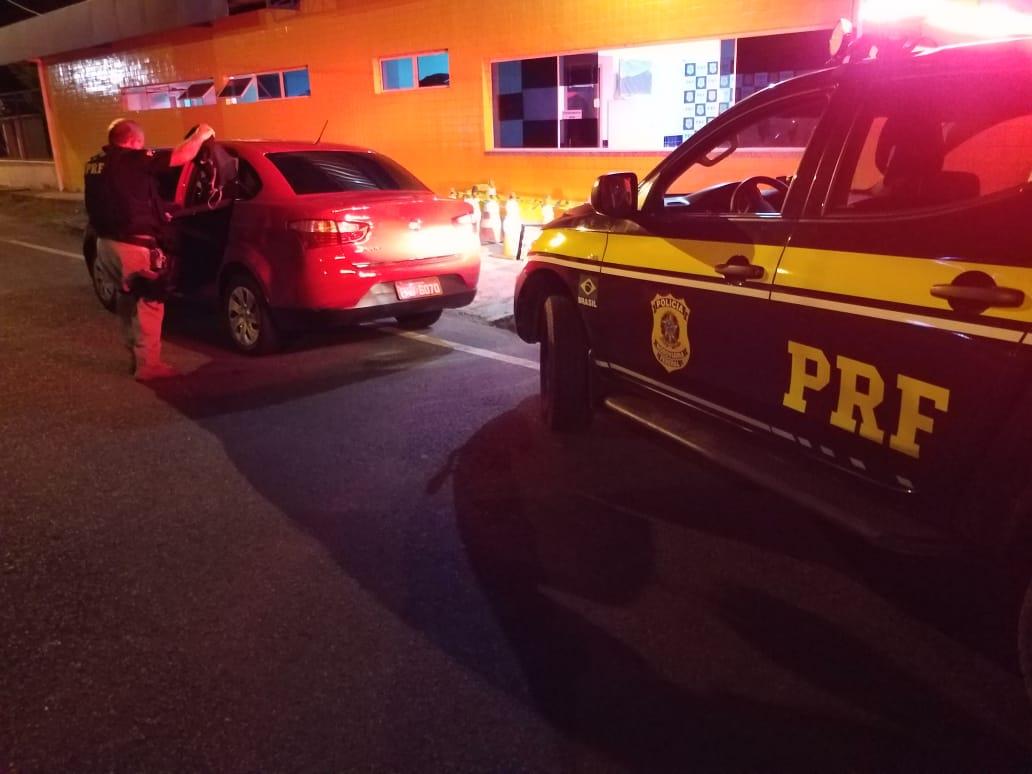 PRF resgata taxista amarrado e amordaçado durante sequestro no PI - Imagem 1