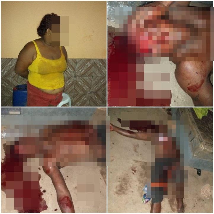 Mulher é presa após tentar matar o marido com golpes de machado no PI - Imagem 1