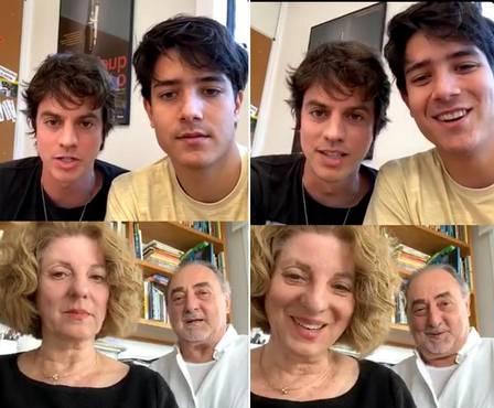 Mãe conta reação após irmão de Luciano Huck revelar ser gay - Imagem 1