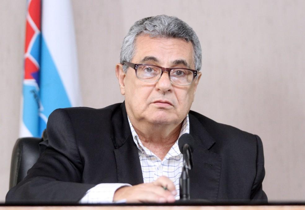 Rubens Lopes, presidente da Ferj, é a favor da retomada dos jogos — Foto: Divulgação/Ferj