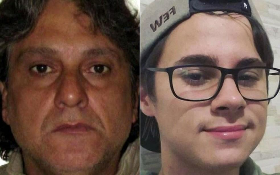 Paulo Cupertino e Rafael Miguel — Foto: Reprodução