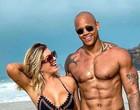 Leo Santana minimiza críticas após reatar namoro com  Lorena Improta
