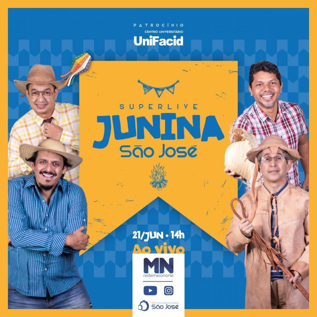 Super Live Junina São José será transmitida pela Rede Meio Norte - Imagem 1