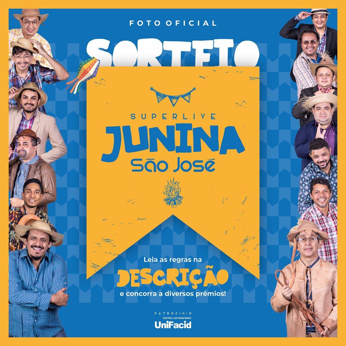 Super Live Junina São José será transmitida pela Rede Meio Norte - Imagem 2