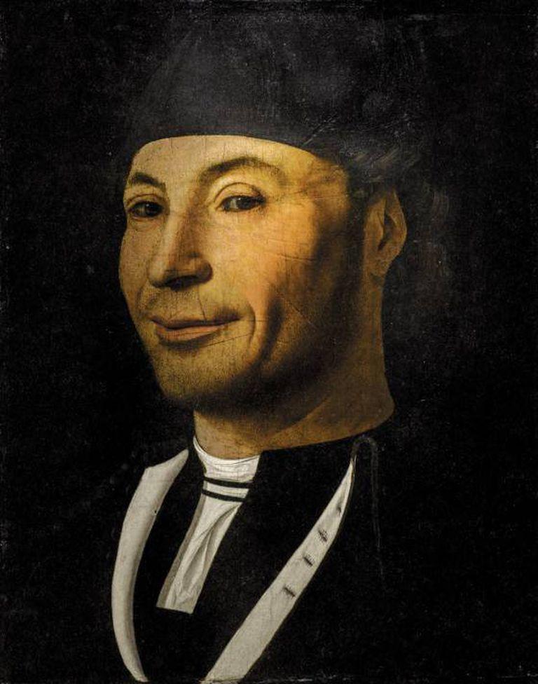 'Retrato de Marinheiro Desconhecido', de Antonello di Messina, 1465-1470, no Museu Mandralisca, Cefalù, Itália
