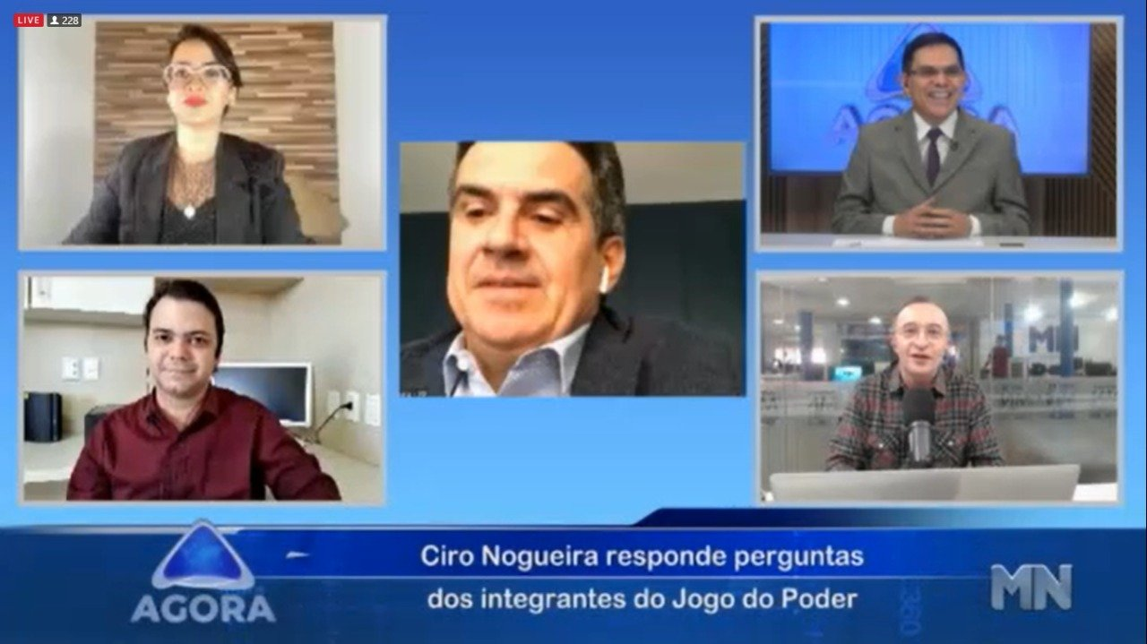 """""""Se a eleição fosse hoje , eu seria candidato"""", afirma Ciro Nogueira  - Imagem 1"""