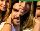 """Grazi e Caio Castro falam sobre namoro em live: """"Amor da minha vida"""""""