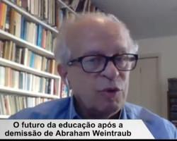 Ex-ministro Renato Janine Ribeiro repercute saída de Weintraub do MEC