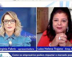 EXCLUSIVO! Luiza Helena Trajano fala de iniciativas empresariais durante a pandemia