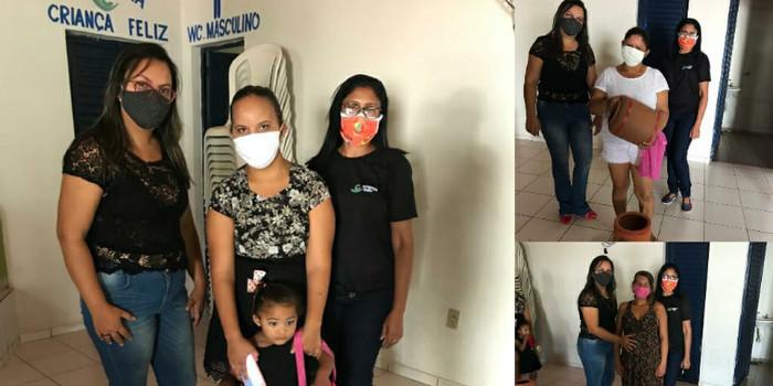 Prefeitura entrega filtros de barro para famílias do Programa Criança Feliz