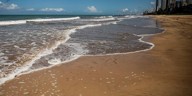 Recife reabre praia e parques para corrida, caminhada e pedalada