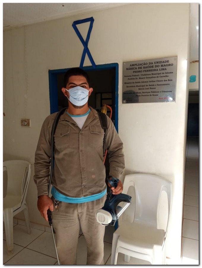 Ações de prevenção e combate ao novo coronavírus pela zona rural - Imagem 10