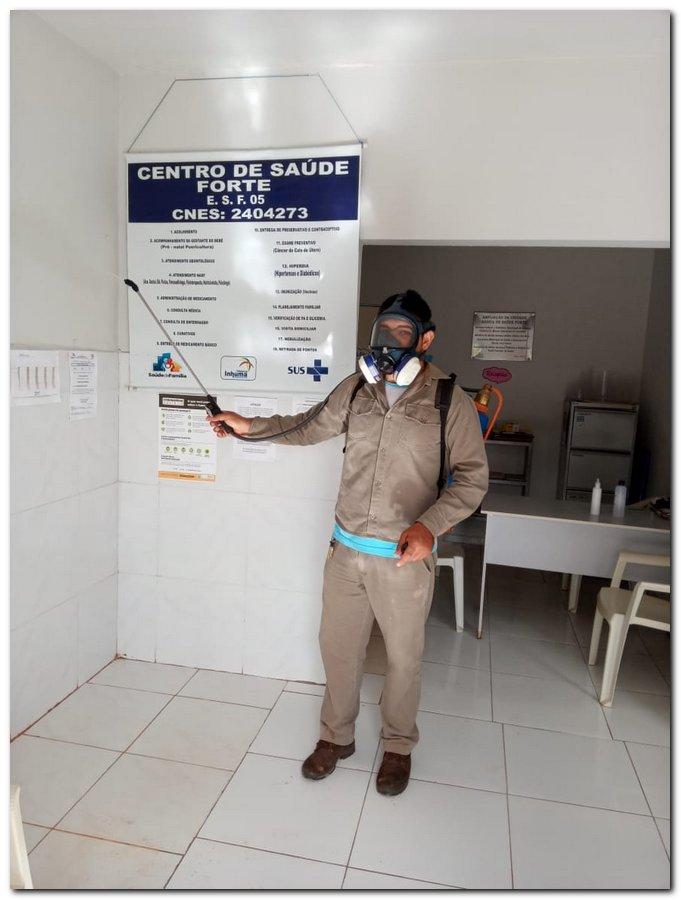 Ações de prevenção e combate ao novo coronavírus pela zona rural - Imagem 8