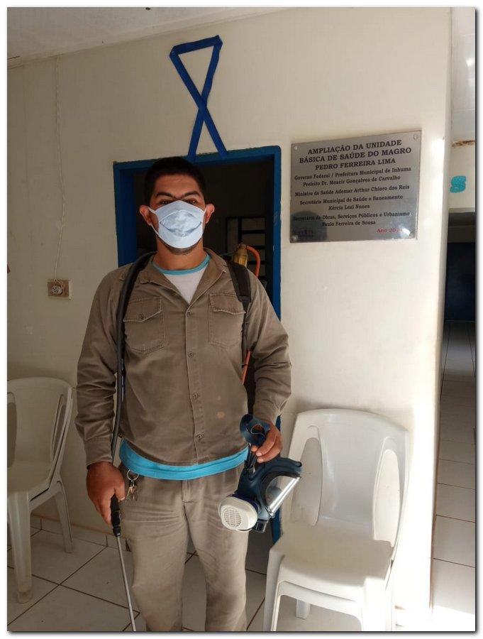 Ações de prevenção e combate ao novo coronavírus pela zona rural - Imagem 11