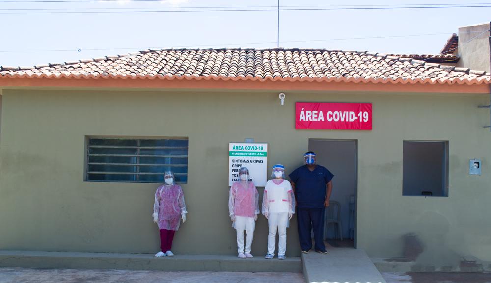 Joaquim Pires dispõe de área para receber pacientes da covid-19 - Imagem 10
