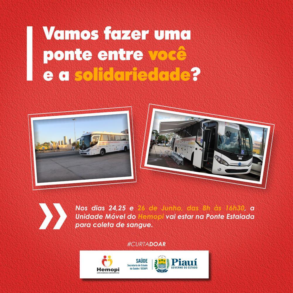 Hemopi promove campanha de doação de sangue em Teresina - Imagem 1