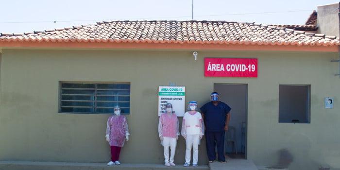Joaquim Pires dispõe de área para receber pacientes da covid-19