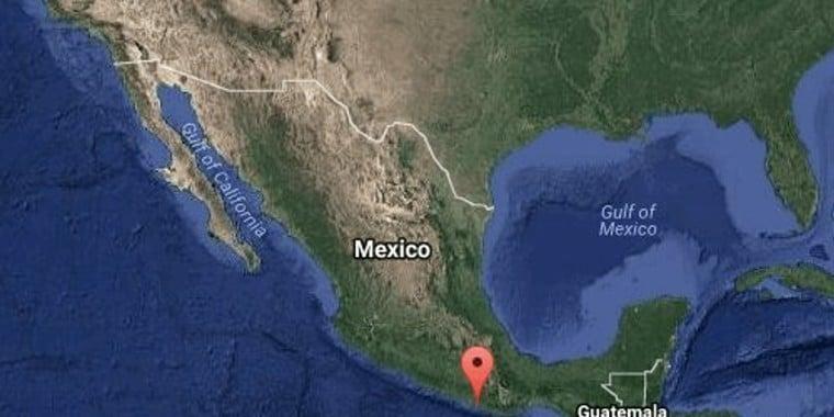 Tremor de magnitude 7,4 atinge o México