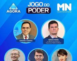 Ex-ministro Sérgio Moro participa do Jogo do Poder nesta sexta-feira (26)