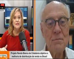 Vereador Eduardo Suplicy exalta o projeto Renda Básica de Cidadania
