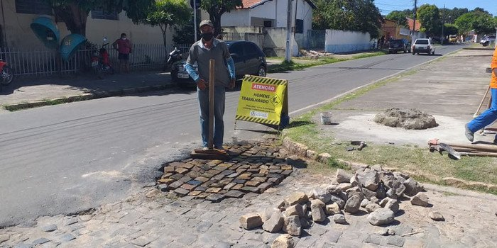 Prefeitura de Monsenhor Gil investindo na Infraestrutura do município