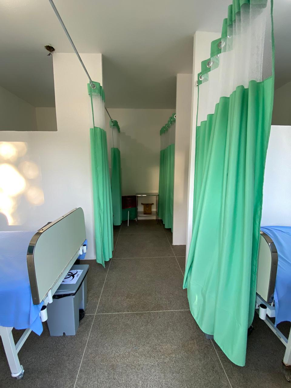 Pacientes ficarão isolados