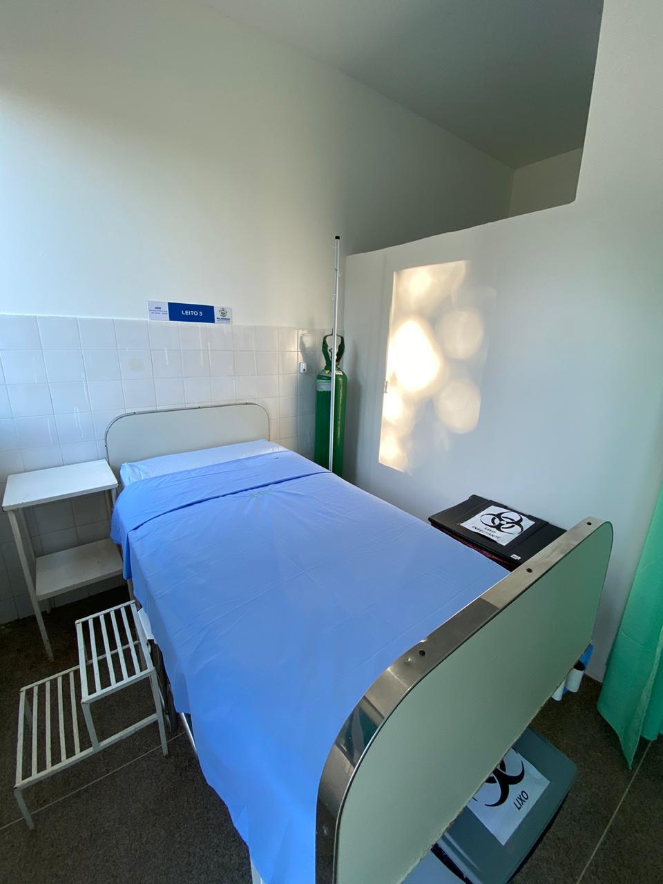 Palmeirais inaugura ala exclusiva para pacientes com Covid-19 - Imagem 1