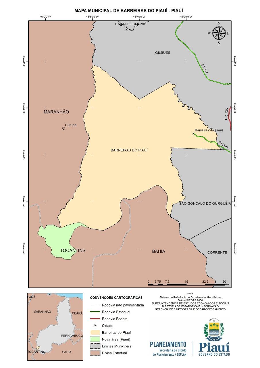 Piauí ganha extensão de terra equivalente a 14 mil hectares - Imagem 1