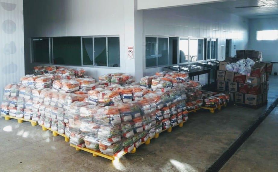 """""""Parceria e Solidariedade"""" entrega alimentos e produtos de higiene  - Imagem 1"""