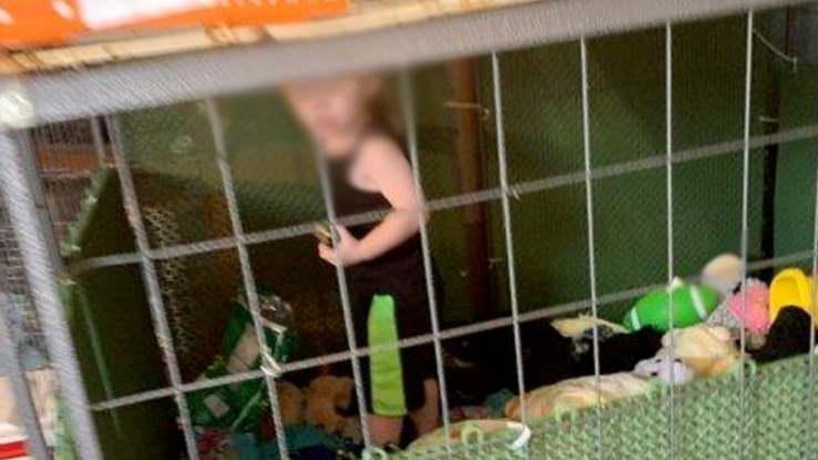 Criança é mantida em jaula perto de 8 cobras, 80 galinhas e 6 cães - Imagem 1