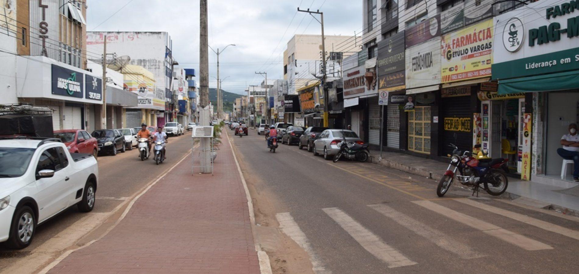Comércio de Picos terá que ser fechado após determinação da Justiça / Crédito: Cidades na Net