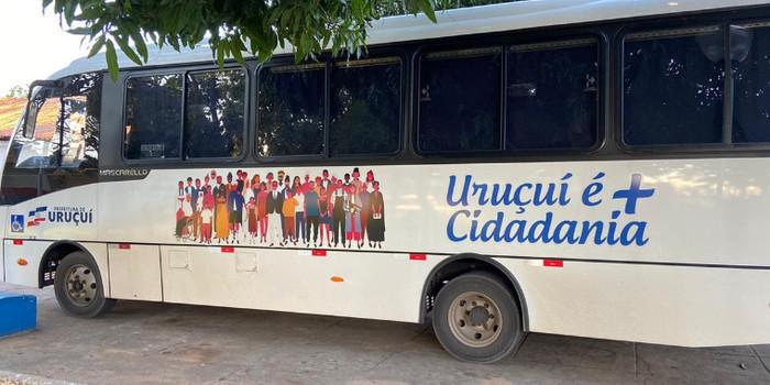 PMU adquire novo ônibus para transportar passageiros