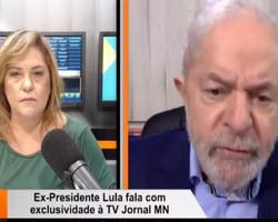 """""""Eu não quero direito para mim, quero para todos"""", diz Lula à Cinthia Lages"""