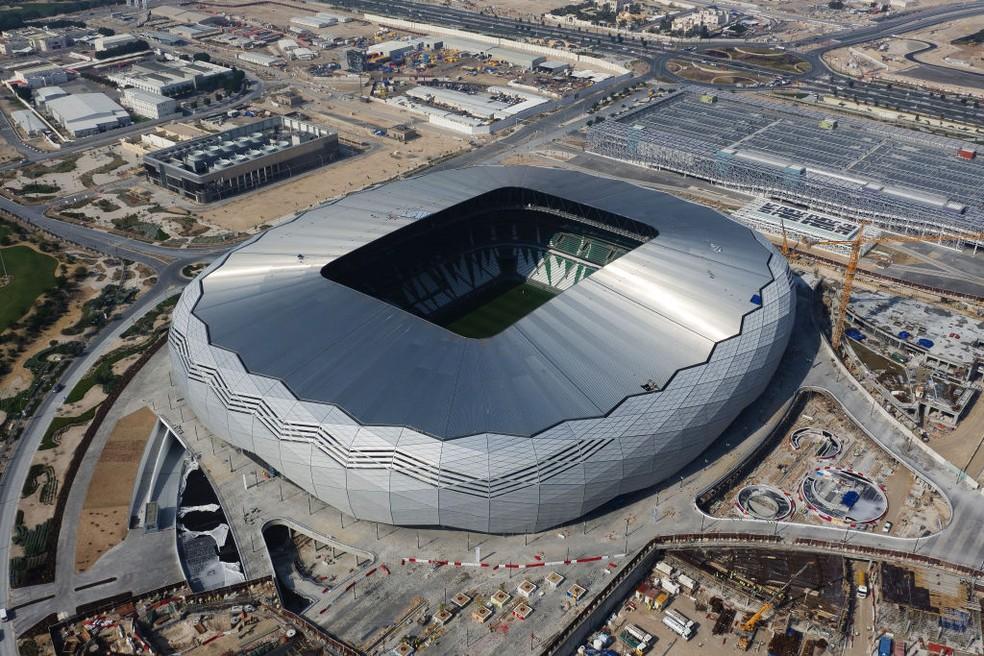 Estádio Education City visto de cima — Foto: Getty Images