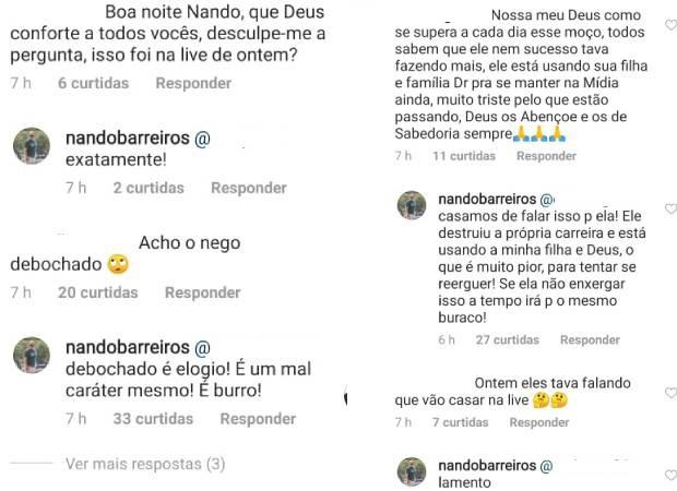 Pai de Duda acusa Nego do Borel de mandar fotos para provocar sogra - Imagem 2