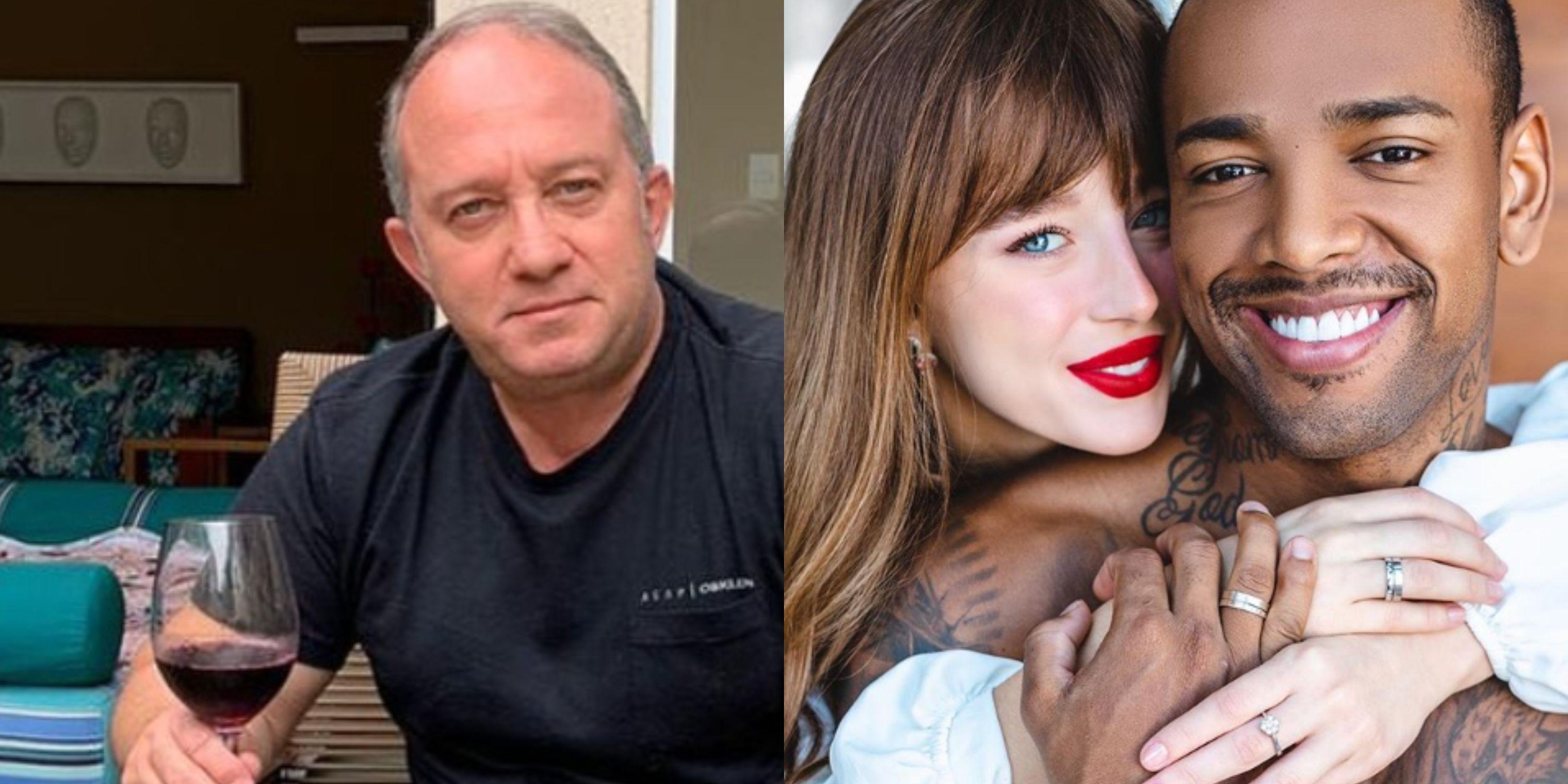 Pai de Duda acusa Nego do Borel de mandar fotos para provocar sogra - Imagem 1
