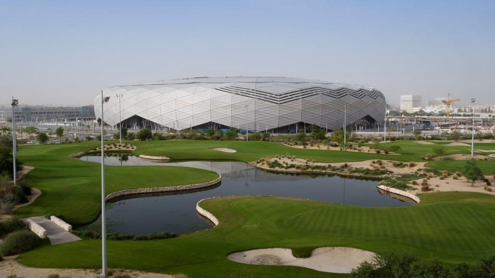 Estádio Education City visto de cima — Foto: Comitê Organizador 2022