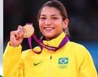 Sarah Menezes participou de live com atletas de outras modalidades