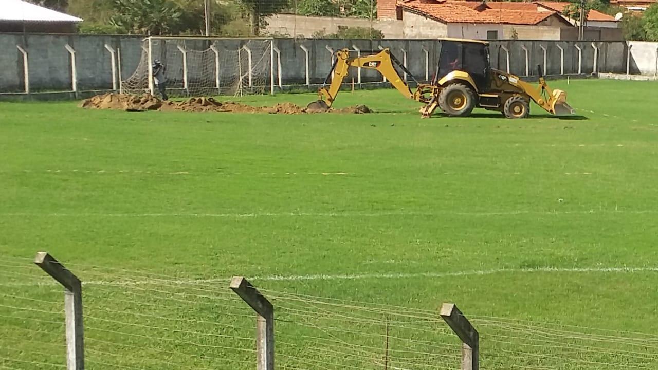 Estádio Municipal João Filomeno recebe obras de drenagem - Imagem 4