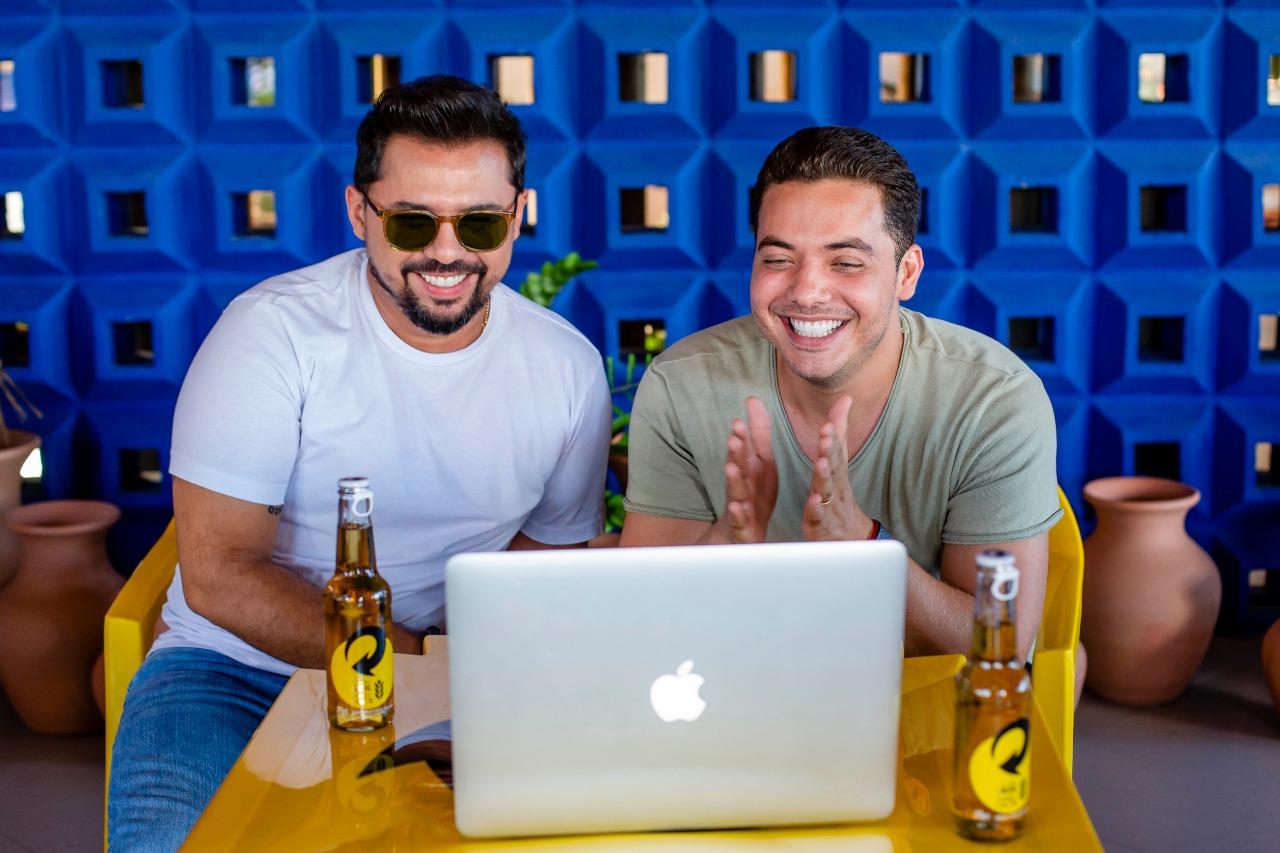 Xand Avião e Wesley Safadão são embaixadores do projeto Skol Forró - Foto: Divulgação
