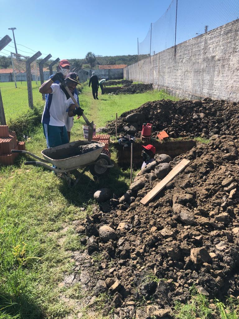 Estádio Municipal João Filomeno recebe obras de drenagem - Imagem 2