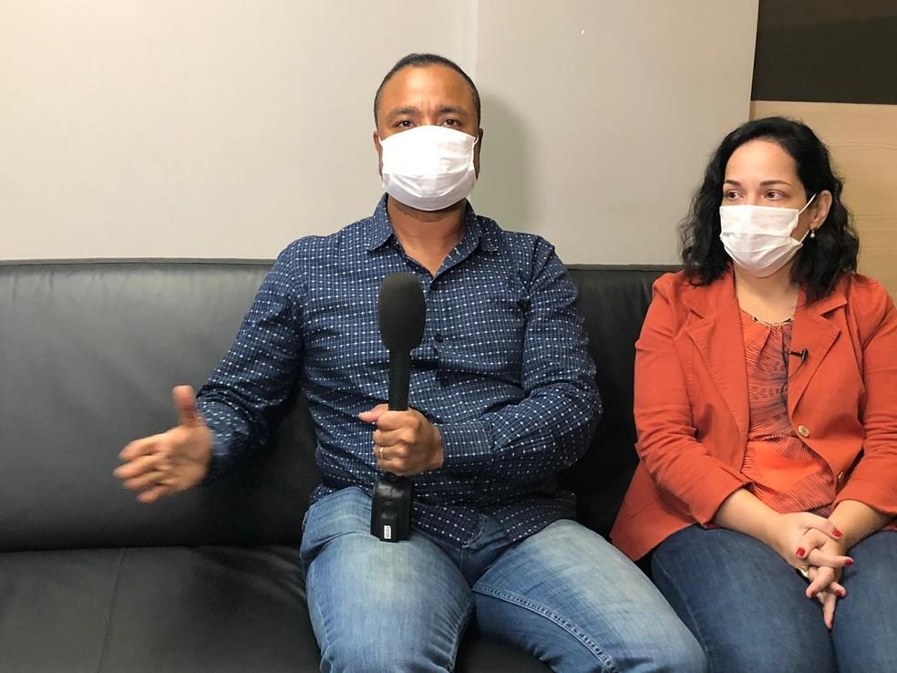 Casal viralizou nas redes sociais após contestar ação de fiscal da Vigilância Sanitária - Foto: G1/Rio
