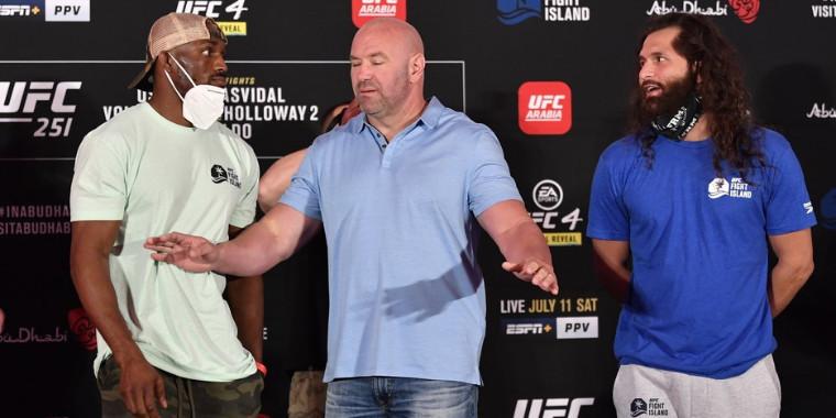 UFC: Tensão na encarada após a pesagem oficial