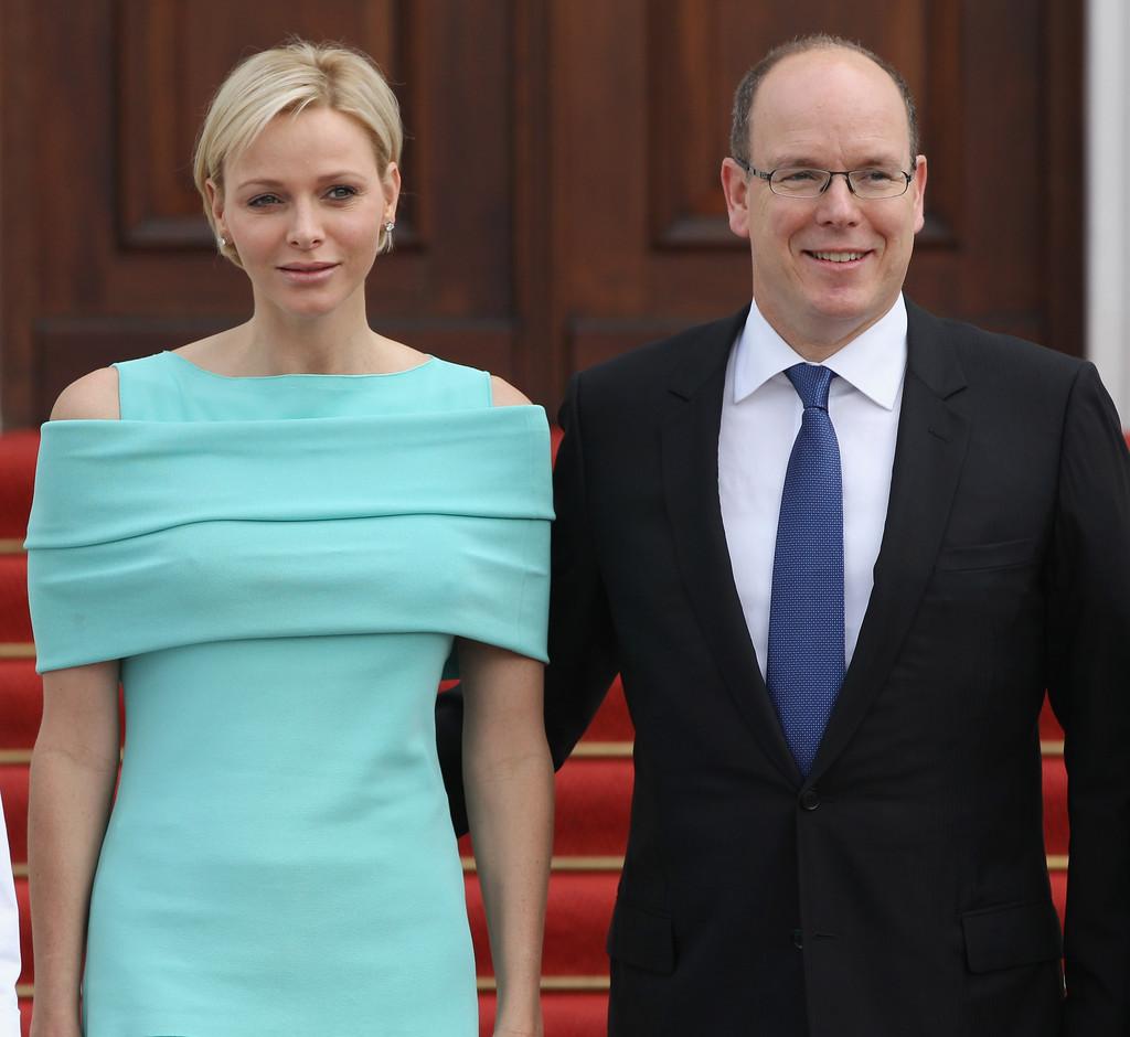Albert II e sua esposa Charlene Wittstock / Crédito: Sean Gallup/Getty Images