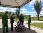 Pacientes com Covid fazem passeio terapêutico em hospital de Teresina