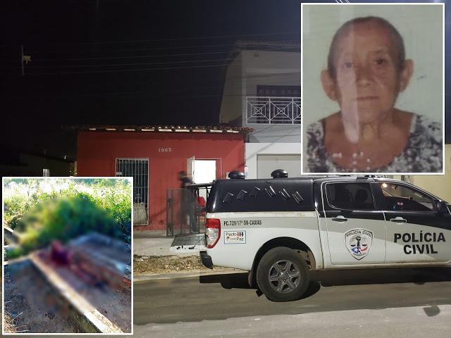 Polícia prende suspeito de matar a própria tia em túmulo da mãe adotiva em Caxias, no Maranhão - Foro: Reprodução