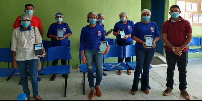 Em São João da Serra ACS recebem tablets com direito a capacitação pela Prefeitura Municipal