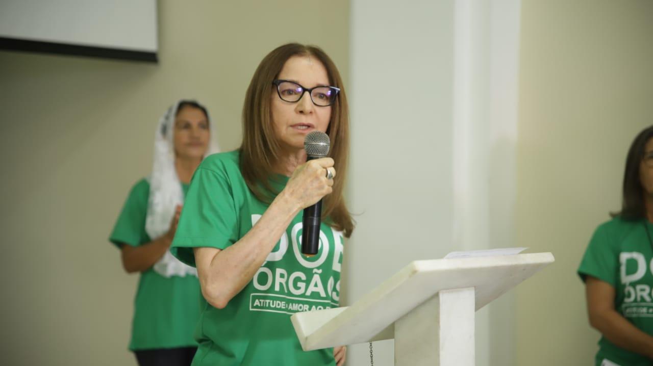 Maria de Lourdes, diretora da Central de Transplantes do Piauí - Foto: Divulgação